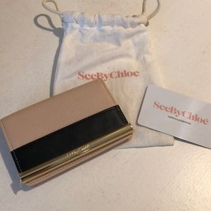 Authentic: See by Chloe card case